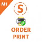 Admin Order Print